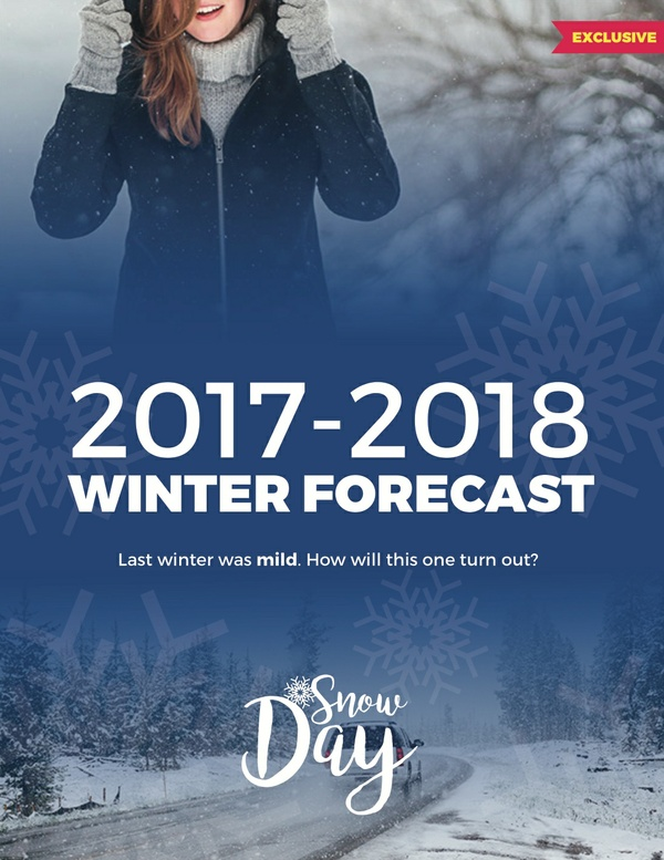 Snow Day's Winter Forecast 2017-2018
