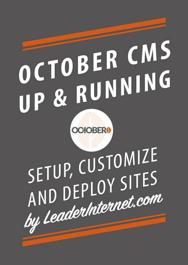 October CMS Up and Running - Chapter One