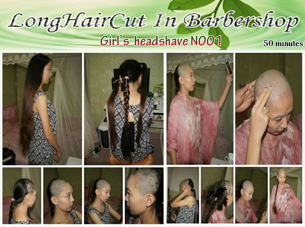 Girl's headshave N001