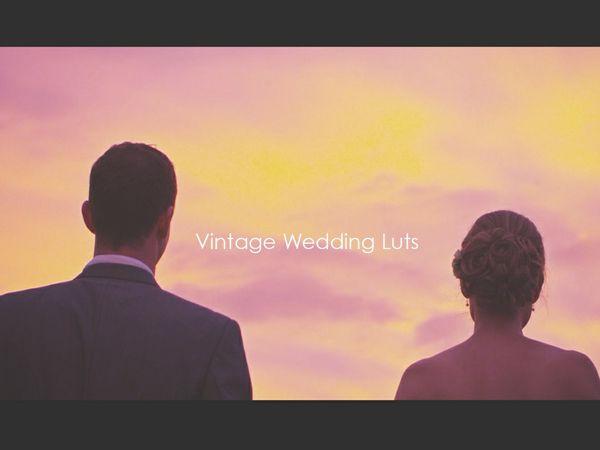 Vintage Wedding Luts