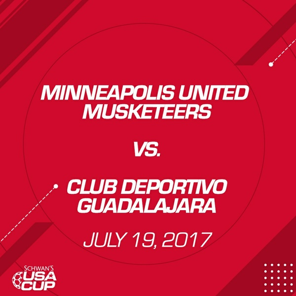 Boys U14 Gold - July 19, 2017 - Club Deportivo Guadalajara vs St. Paul United