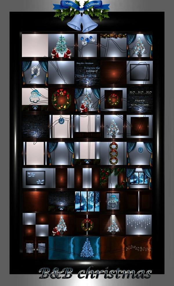 B&B christmas 45 textures