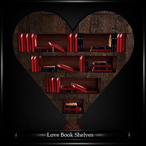 Love Bookshelves Mesh
