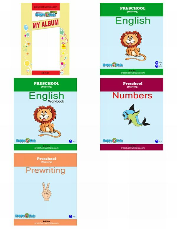Preschool (Nursery) Package