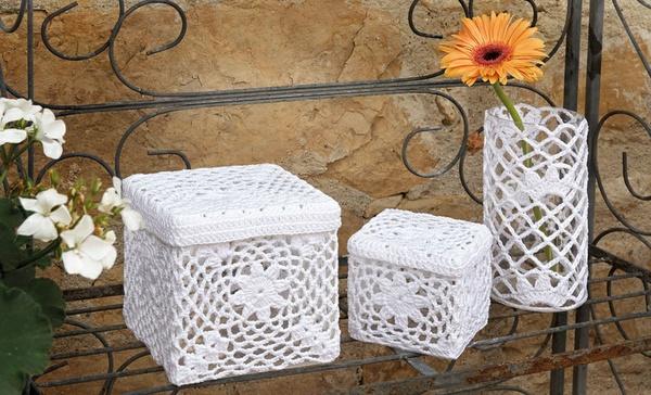Crochet Lace Box