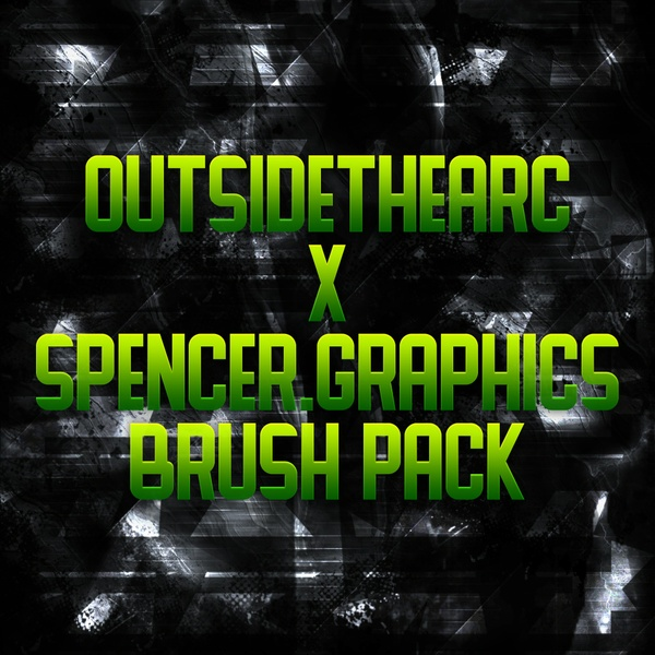 OutsideTheArc x SpencerGraphics Custom Brush Pack