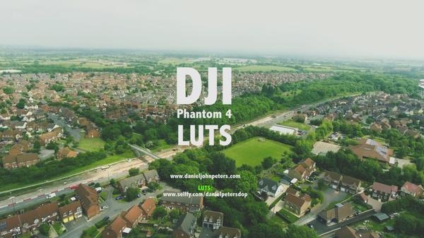 DJI Phantom 4 LUTS