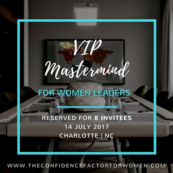 The VIP Mastermind for Women Leaders 2017
