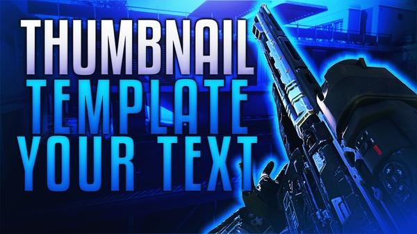 Free Bo3 Thumbnail Template