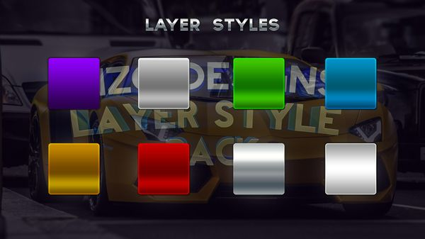 2015 Layer Style Pack (PSD)