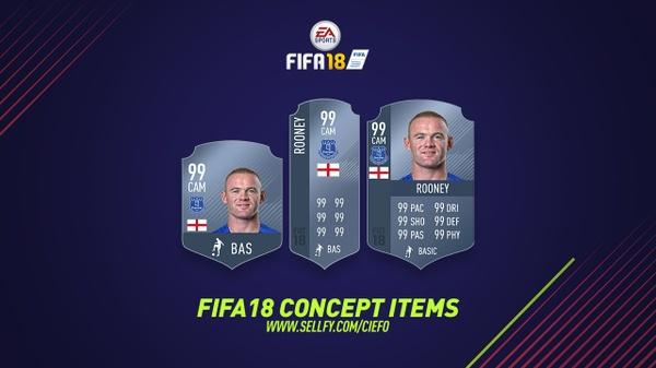 FIFA 18 CONCEPT ITEM