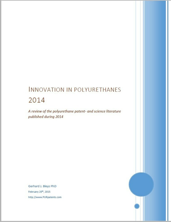 Innovation in Polyurethanes 2014