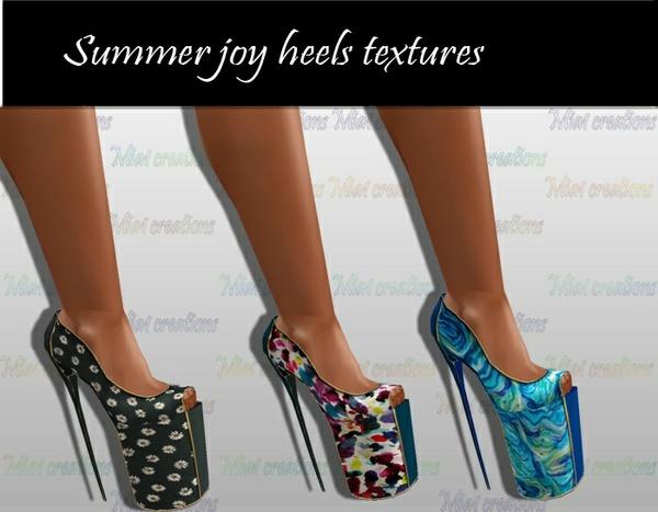 Summer Joy heels