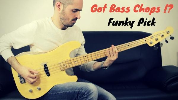 Funky Pick - Tab