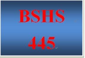 BSHS 445 Week 2 Hybrid Model of Crisis