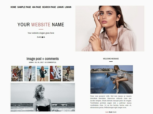 Wordpress Premade #005