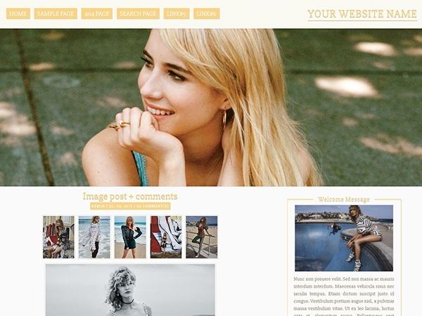 Wordpress Premade #004