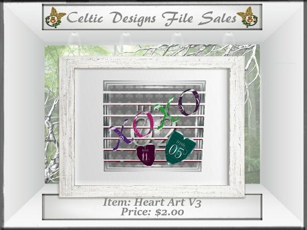 CD Heart Art V3 Mesh