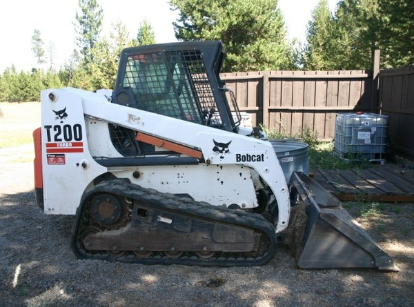 Bobcat T200 Turbo, T200 Turbo High Flow Compact Track Loader Service Repair Manual