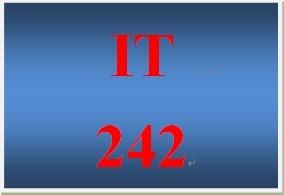 IT 242 Week 9 WAN Design
