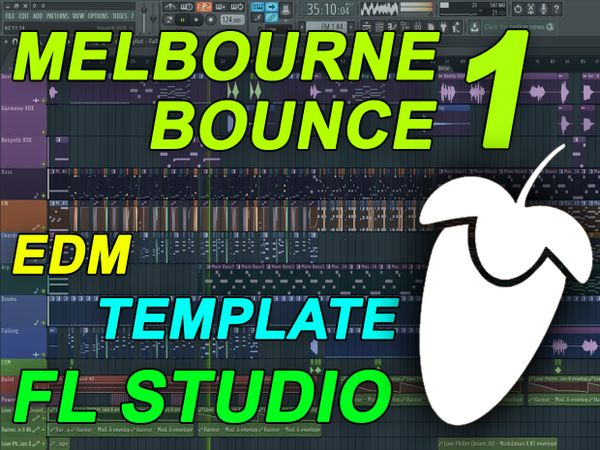 FL Studio - EDM Melbourne Bounce Template 1