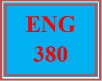 ENG 380 Week 5 Speech Acquisition Charts