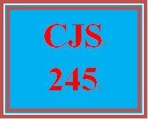 CJS 245 Week 5 Future of the Juvenile Justice System Proposal Presentation