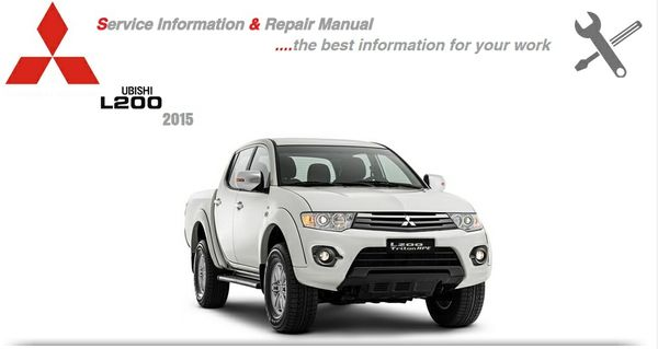 MITSUBISHI L200 2015 WORKSHOP MANUAL