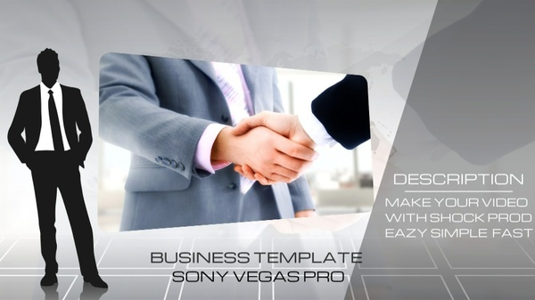 Corporate Business Template Sony Vegas 11 12 13