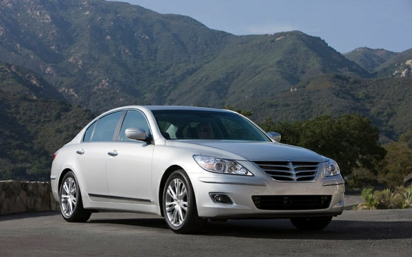 Hyundai Genesis Sedan 2009-2010 Service Workshop Repair Manual