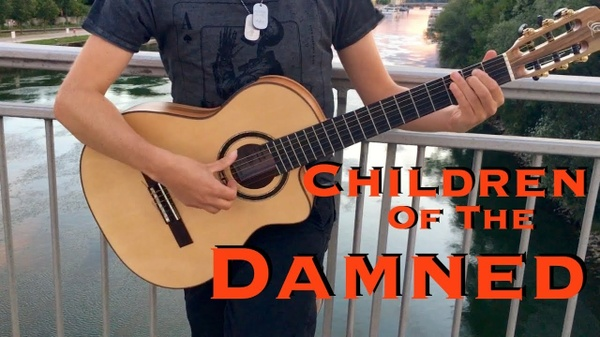 Children Of The Damned (Iron Maiden) - Solo guitar arrangement by Thomas Zwijsen