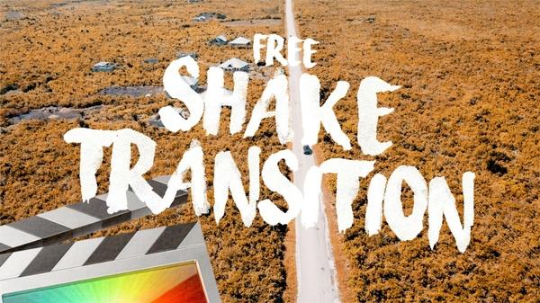 Free Shake Transition - Final Cut Pro X