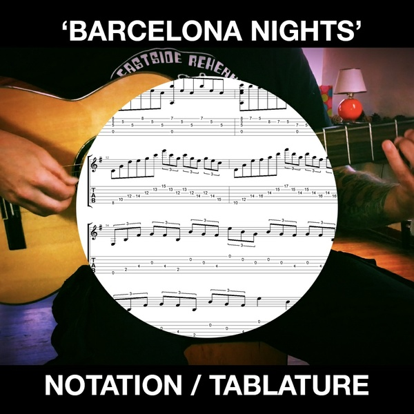 Barcelona Nights - for Solo Flamenco Guitar - Ben Woods