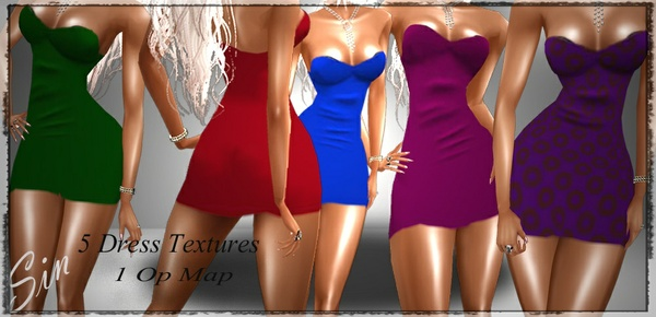 Freebie: Short Dress Bundle