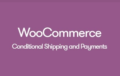 WooCommerce Conditional Shipping and Payments 1.2.9 Extension