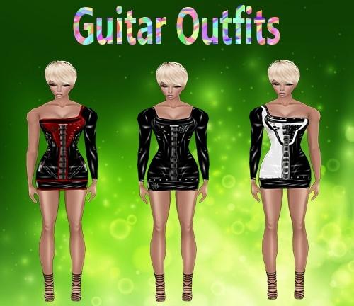 Guitar Dress Set Outfits