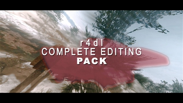 r4dl COMPLETE EDITING PACK!