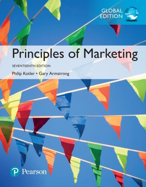 Principles of Marketing 17th edition ( Global edition )  ( PDF, Instant download )