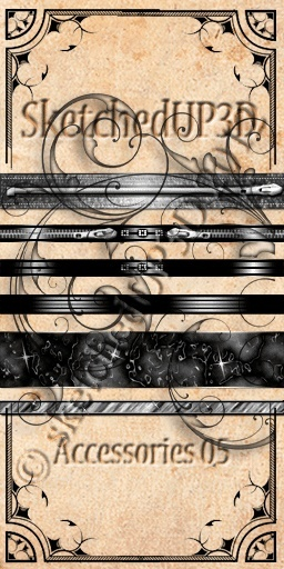 Accessories 05 - Belt Texture Bundle