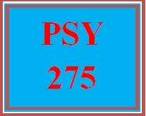 PSY 275 Entire Course