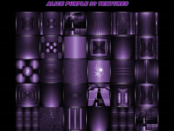 ALICE PURPLE 30 TEXTURES