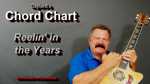 Reelin' in the Years by Steely Dan  - CHORD CHART