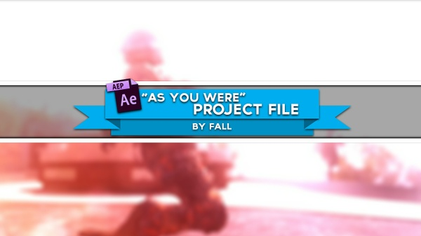 """""""As You Were"""" Project File"""