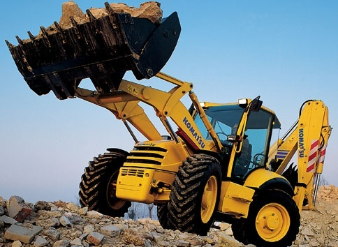 Komatsu Backhoe Loader WB97S-5 sn: F00003 and up Workshop Service Manual