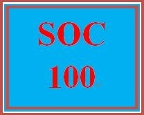 SOC 100 Week 4 Films on Demand: Sociology Collection: Social Institutions