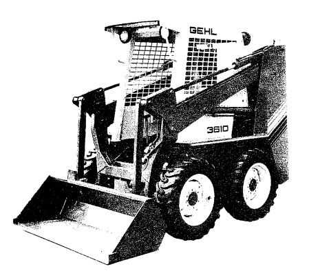GEHL SL3510/SL3610 Skid Loader Parts Manual