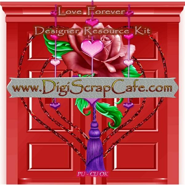 Forever Love Scrap Kit