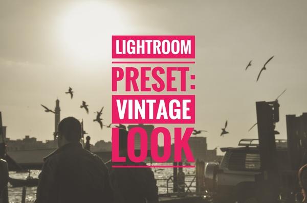 Vintage Look Lightroom Preset Pack