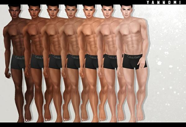 :: IMVU - Male Skin template 2017 ::