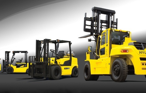 Hyundai Forklift Truck 35D/40D/45D-7E,50D-7AE Service Repair Manual Download